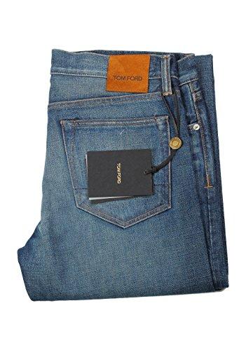 Tom Ford CL Blue Slim Fit Jeans TFD001 Size 52/36 U.S.