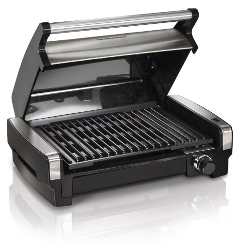 Hamilton Beach (25360) Electric Smokeless Indoor Grill & Searing Grill with Removable Plates by Hamilton Beach (Image #5)
