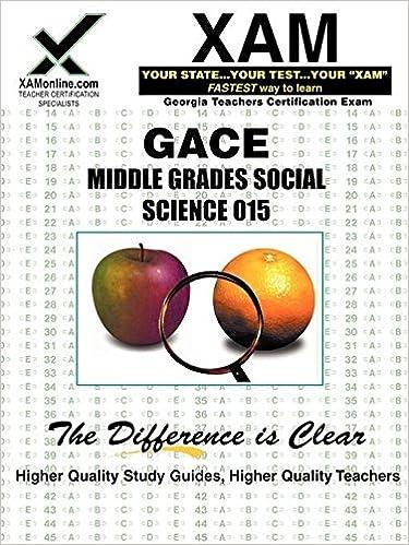 GACE Middle Grades Social Science 015