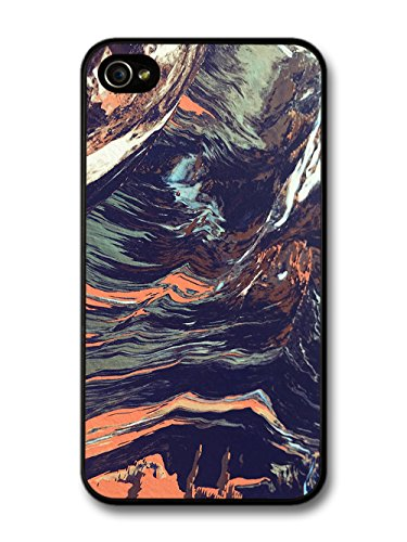 Cool Trippy Pattern in Hand Painted Style case for iPhone 4 4S