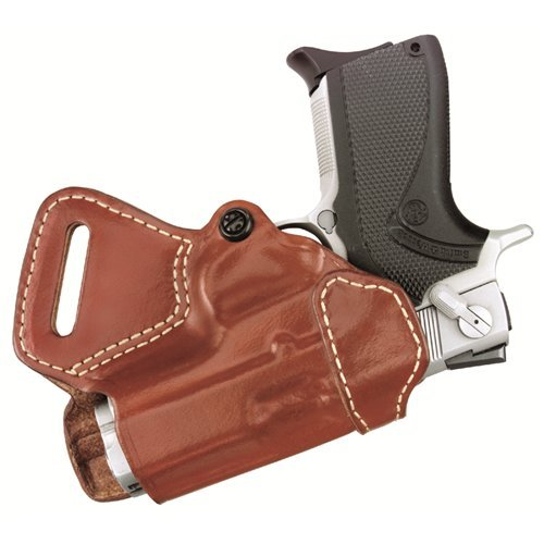 Gould & Goodrich 806-195 Gold Line Small Of Back Holster (Chestnut Brown) Fits most 1911-type pistols with 4