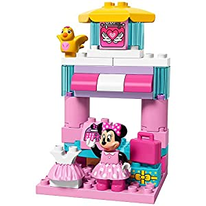 LEGO DUPLO Brand Disney Minnie Mouse Bow-Tique 10844 Building Kit (70 Piece)