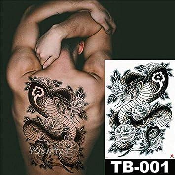 Zhuhuimin 3pcs Completas Pegatinas Tatuaje Posterior Impermeable ...