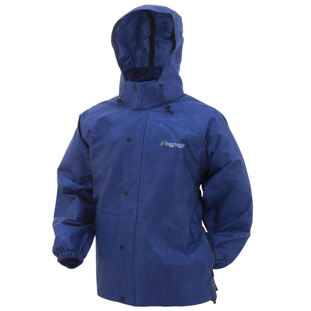 Frogg Toggs, Pro Action Jacket, Blue, X-Large by Frogg Toggs