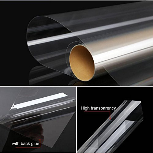"""HOHO 60"""" x66ft 2mil Clear Safety Window Film Roll Clear Glass Protection Anti Shatter Resist Wholesale"""