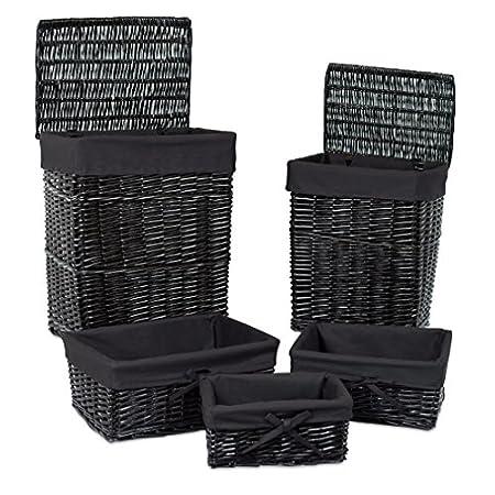 5159k9qasjL._SS450_ Wicker Baskets and Rattan Baskets