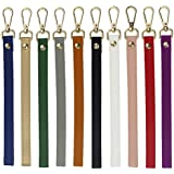 Coolcoco Colorful DIY Leather Replacement Chain Strap Set for Purse Handbag/Clutches/Wallet/Wristlet Evening Bag/Keychain Organizer (10 Pieces/Set)