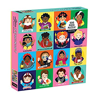 Little Feminist 500 Piece Family Puzzle, Feminists, Model:: Galison: Toys & Games