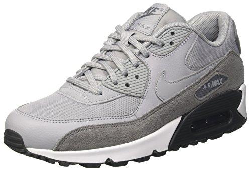 Nike Air MAX 90, Zapatillas de Gimnasia para Mujer Gris (Cool Grey / Wolf Grey / Anthracite / White)