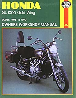 Honda GL1000 Gold Wing, 1975-79 (Owners Workshop Manual) 1st edition by Haynes, John…