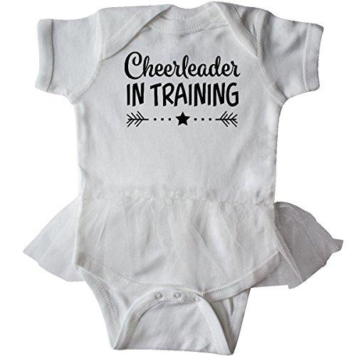 inktastic - Cheerleader in Training Infant Tutu Bodysuit Newborn White 2c4ca