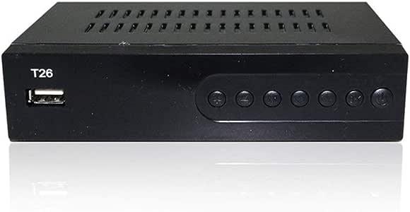 Digi Box Receptor Digital de TV con decodificador Wi-Fi y la grabadora de vídeo USB DVB-T2 del sintonizador terrestre HD 1080P HD Son similares al convertidor de televisión Digital.: Amazon.es: Electrónica