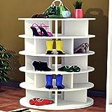 Spinning Shoe Rack   Shoe Storage   Shoe Rack   Lazy Susan Shoe Rack   Shoe Organization   Shoe Cabinet   Closet…