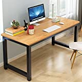 YQ WHJB Office Simple Large Computer Desk,Home Computer Table Writing,pc Laptop Study Workstation Dining Table Easy to Assembly-a 120x60cm(47x24inch)