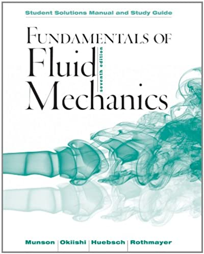 student solutions manual and student study guide fundamentals of rh amazon com Fluid Dynamics Problem Newtonian Fluid