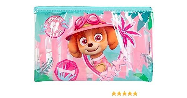 Nickelodeon Jungle Patrol - Estuche para lápices, diseño de Patrulla Canina: Amazon.es: Oficina y papelería