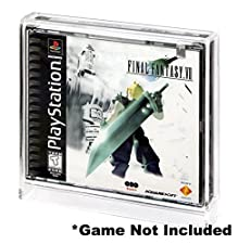 Video Game Display Case for Playstation 1 (PS1) - (Multi Disc Case) by Collectible Grading Authority