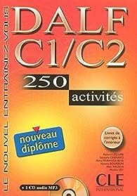 Nouveau DALF C1/C2 (1CD audio) par Vanessa Bourbon