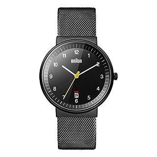 Braun Men's BN0032WHBKG Classic Analog Watch w. White Display and Black Band (B004X4KW7A)   Amazon price tracker / tracking, Amazon price history charts, Amazon price watches, Amazon price drop alerts