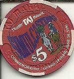 $5 trump taj mahal simulcasting casino chip atlantic city new jersey offers