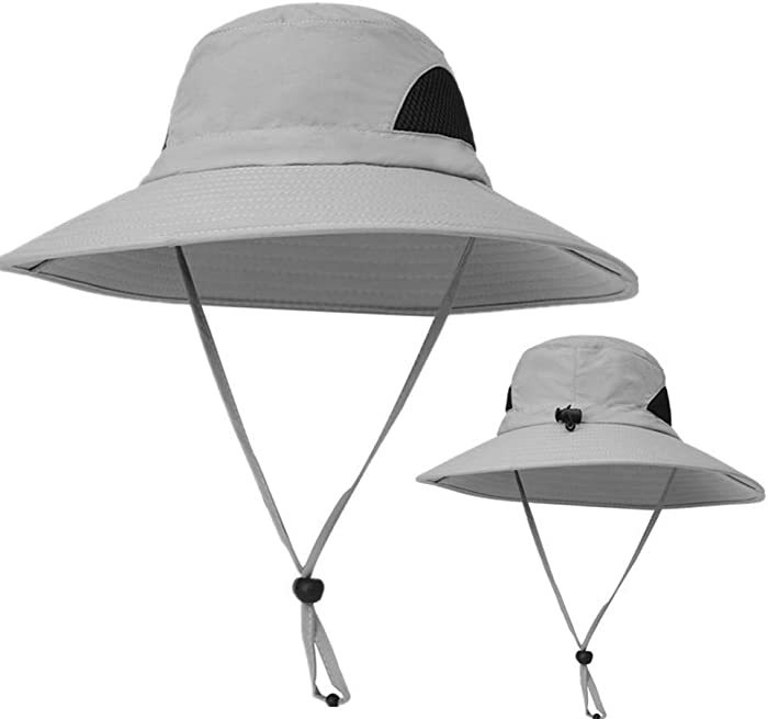 KPWIN Fishing Hat, Safari Hat Cap with UPF 50 Sun Protection for Men and Women