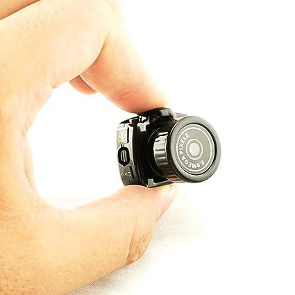 Careshine Mini cámara espía Oculta, Mini cámara de videocámara pequeña grabadora de vídeo DVR espía