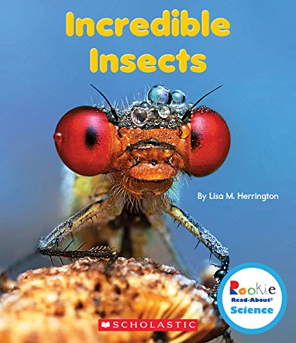 Incredible Insects (Rookie Read-About Science: Strange Animals)