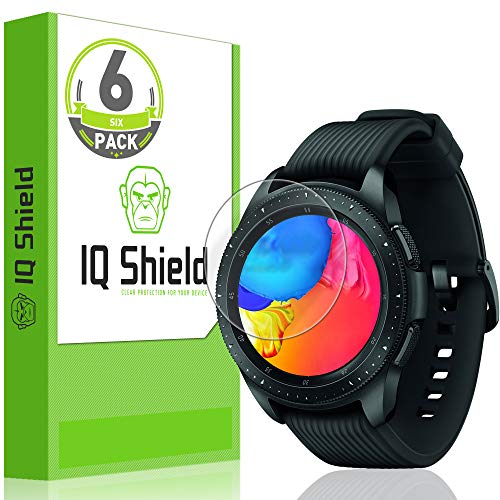 IQ Shield Screen Protector Compatible with Garmin Vivoactive 3 Music (6-Pack)(Full Coverage) LiquidSkin Anti-Bubble Clear Film