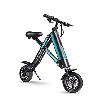 Amazon.com: XZZTX - Patinete eléctrico para adultos, mini ...