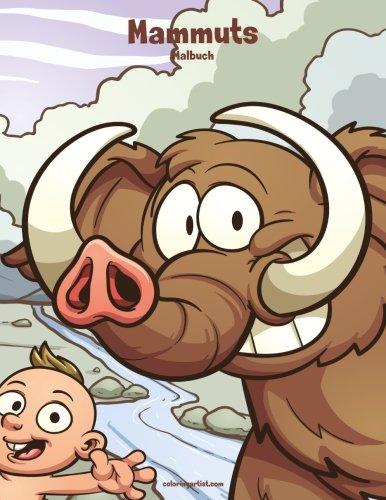 Mammuts-Malbuch 1