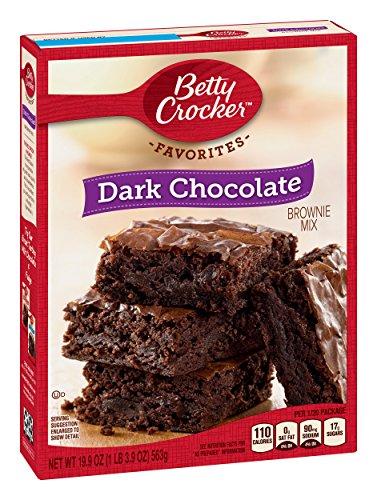 Mix, Dark Chocolate Brownie Mix, Family Size, 19.9 Oz Box ()