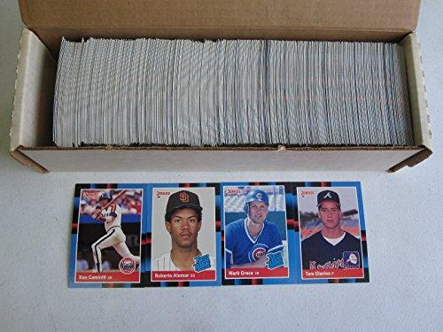 1988 Donruss Baseball Complete Set #1-660 with Tom Glavine, Roberto Alomar, and Mark Grace Rookies ()