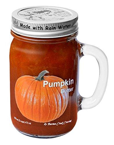 Pumpkin Cream Cheese - Barton Creek Crossing Pumpkin Butter, 16 fl oz reusable mug handle jar