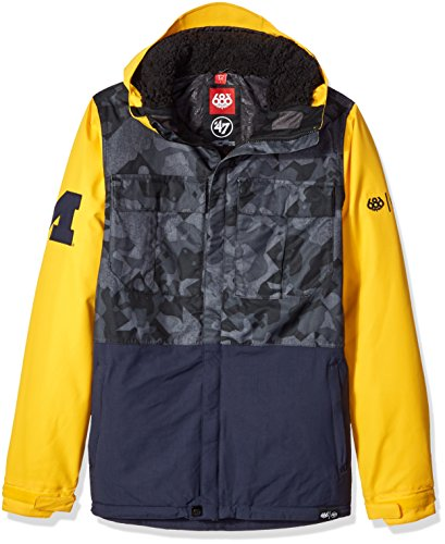 686x47 NCAA Michigan Wolverines Men's Victory Insulated Jack