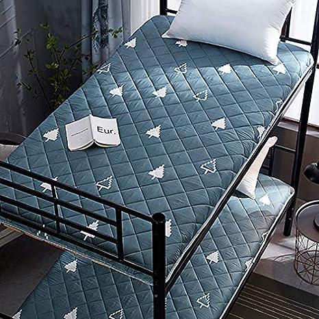 D&LE Tatami Bed Mattress, Anti Slip Folding Mat, Single Sleeping Pad For Student Dormitory Home Breathable Durable-Green 90x190x5cm(35 x 75 inch): Amazon.es: Hogar