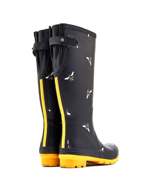 Joules Womens Welly Print Rain Boot