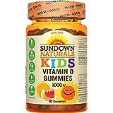 Sundown Naturals Non-gmo Kids Vitamin D Gummies, 90 Count