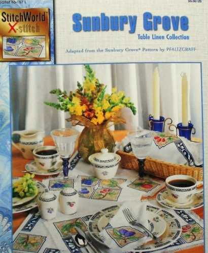 Sunbury Grove Table Linen Collection - Counted Cross Stitch - StitchWorld X-Stitch - Leaflet 03-157 L ()