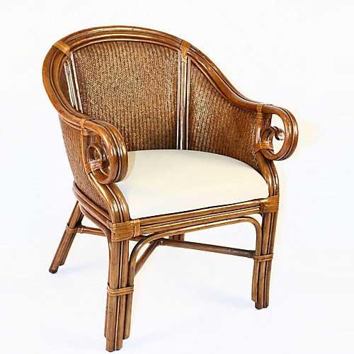 Bamboo Fabric Chair - 5