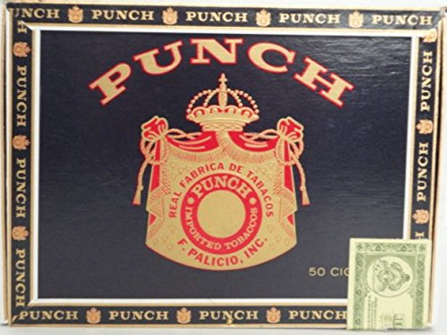 Decorative Wooden Cigar Box Empty Single Punch Medium Size (Cardboard Cigar Box)