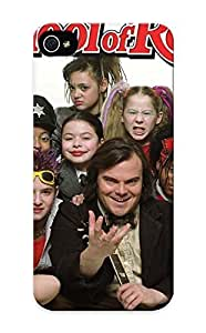meilinF000Honeyhoney Protection Case For iphone 4/4s / Case Cover For Christmas Day Gift(jack Black In School Of Rock Gang )meilinF000