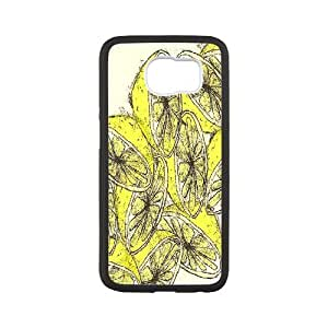{Lemon Series} Samsung Galaxy S6 Cases Lemon Illustration, Case Jumphigh - White