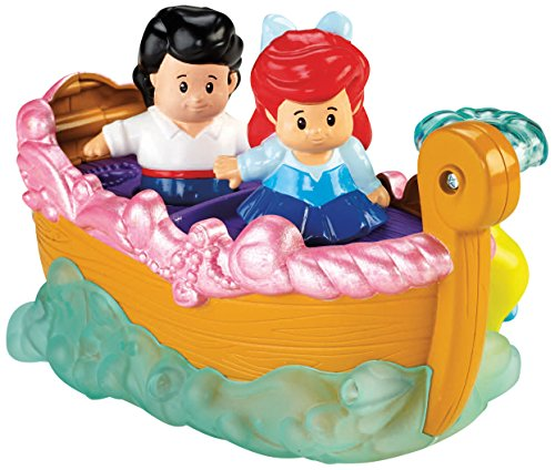 Fisher Price Little People Bathtub (Fisher-Price Little People Disney Princess Ariel's Boat Ride Toy)