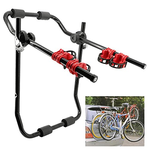 World Pride 2-Bike Trunk Mount Bicycle Carrier Rack (Fits most trunk, SUVs and minivans.) Bike Racks World Pride