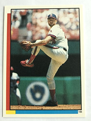 1990 Topps Stickers #165 Bert Blyleven NM/M (Near Mint/Mint) ()