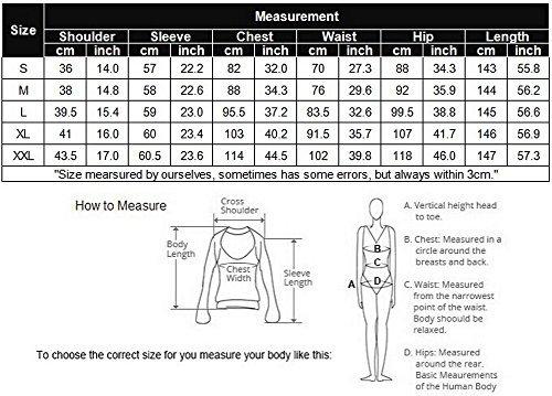 Donna Abbigliamento Nero Termica Onesie Sleepwear Intimo Pagliaccetto shirt Underwear Unibelle T S Con xxl Tuta Termico SqZBqd5