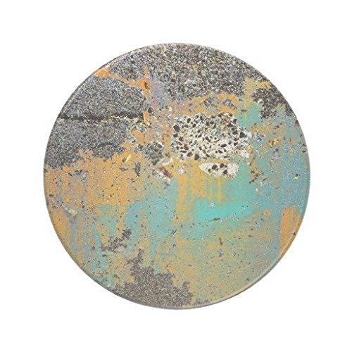 Cracked Concrete Series Ceramic Sandstone Drink Coaster Set of 4 Sandstone Coasters (Concrete Drink Coasters)