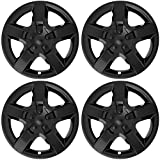 "COVERTREND Cover Trend (Set of 4), Black (ONLY FITS 17"" inch Wheels That take Hubcaps) fits Chevy Malibu - 5 Spoke Aftermarket Chevrolet Wheel Covers Hub caps"