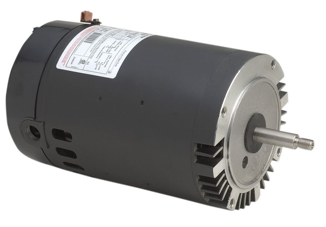 A.O. Smith B229SE 1-1/2 HP, 3450 RPM, 1 Speed, 230/115 Volts, 7.2/14.4 Amps, 1 Service Factor, 56J Frame, PSC, ODP Enclosure, C-Face Pool Motor