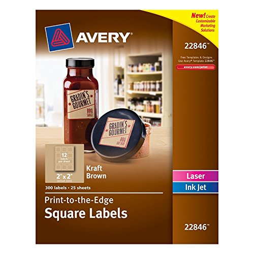 Avery-Print-to-the-Edge-Square-Labels-Kraft-Brown-2-x-2-Inches-Pack-of-300-22846